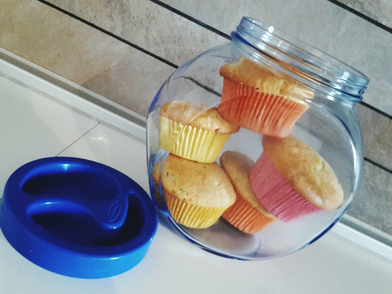 Muffin Dolci Dessert Muffinporn Muffin Morning Pranzodelladomenica Dinner Time Zucchero Dolcezza Dolce ♥ Golosità Caffe Time Colazione Barattolo