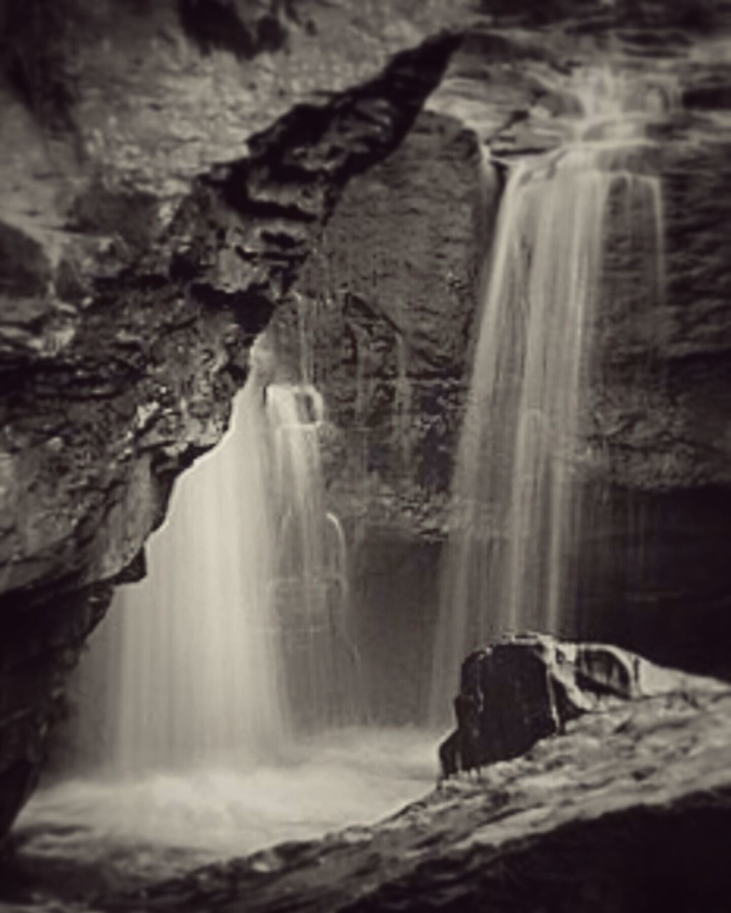 rock - object, rock formation, cave, geology, nature, waterfall, physical geography, cliff, beauty in nature, no people, scenics, water, day, outdoors, rock face