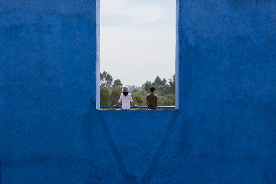 Beautiful stock photos of mexico, Architecture, Blue, Built Structure, Day