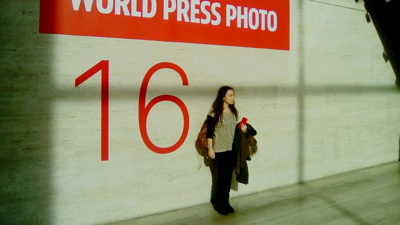 World Press Photo 2016 Red People One Person One Woman Only Young Adult Open Edit Color Fragments Of Life Real People Indoors  Portrait Contemplation