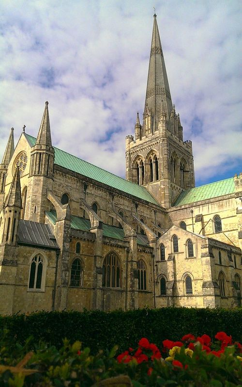 Chichester Cathedral Architecture Buildings