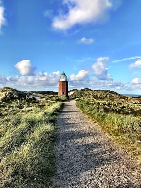 Sylt, Germany Leuchtturm Lighthouse IPhoneography Sky And Clouds Sky Kampen
