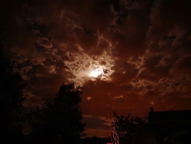 Fire Lune Moonlight Moonfire Nightphotography First Eyeem Photo