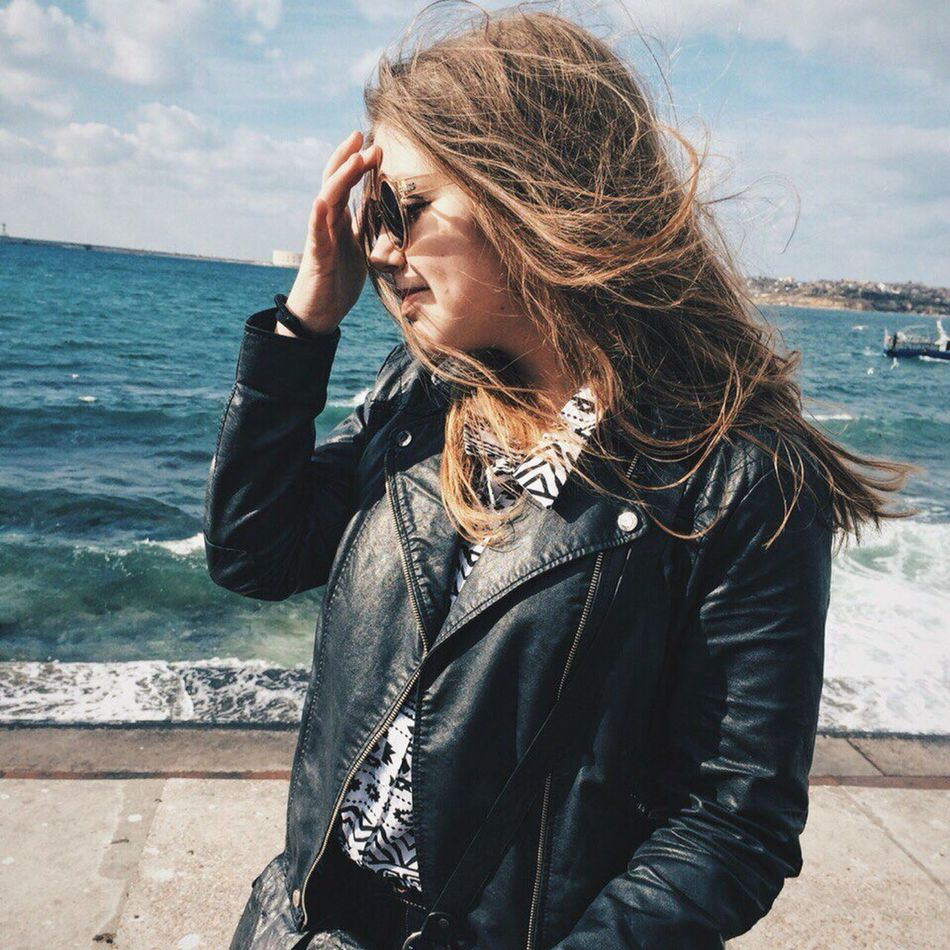 Let Your Hair Down Russia Sevastopol  Art Inspirational Sea Sea And Sky View Enjoying Life Hello World