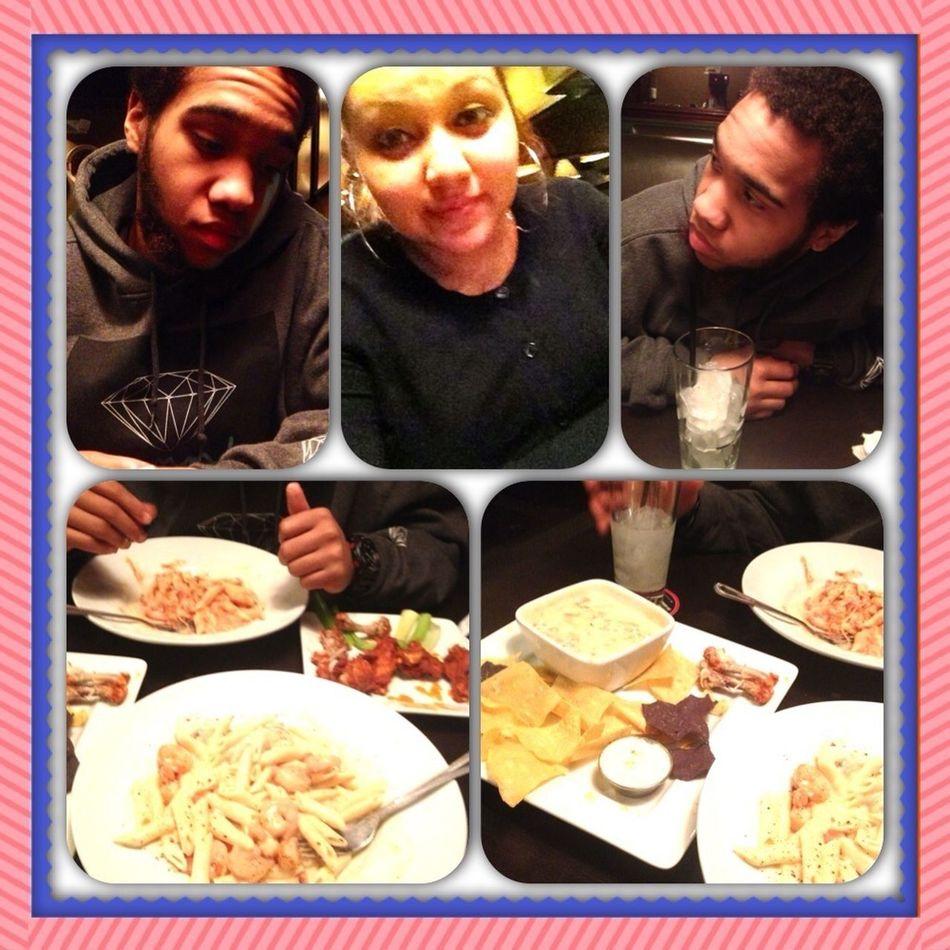Our V-day Dinner