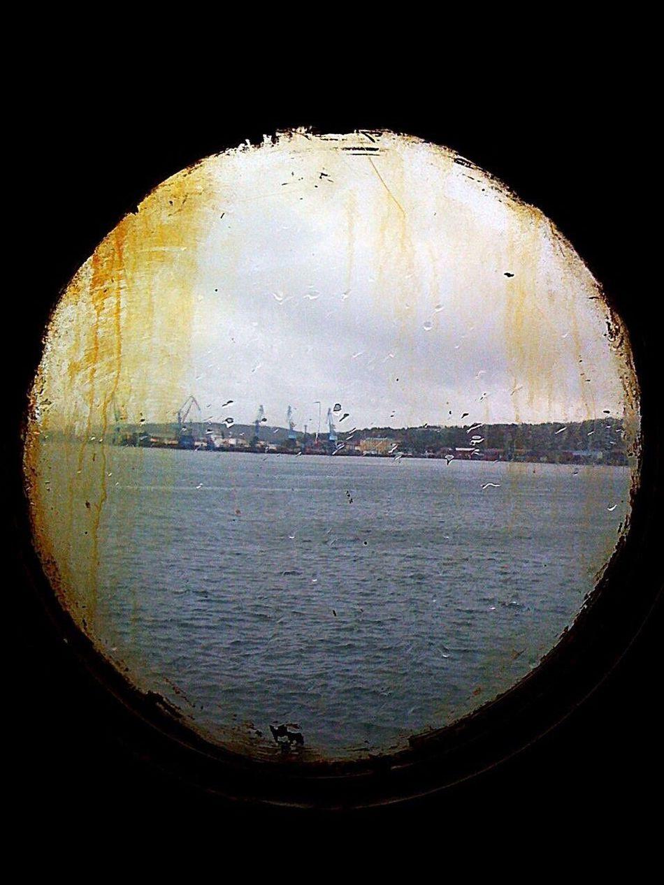 "Вид из каюты на Острове ""Кунашир"" Kunashir Island First Eyeem Photo Iphone2g"