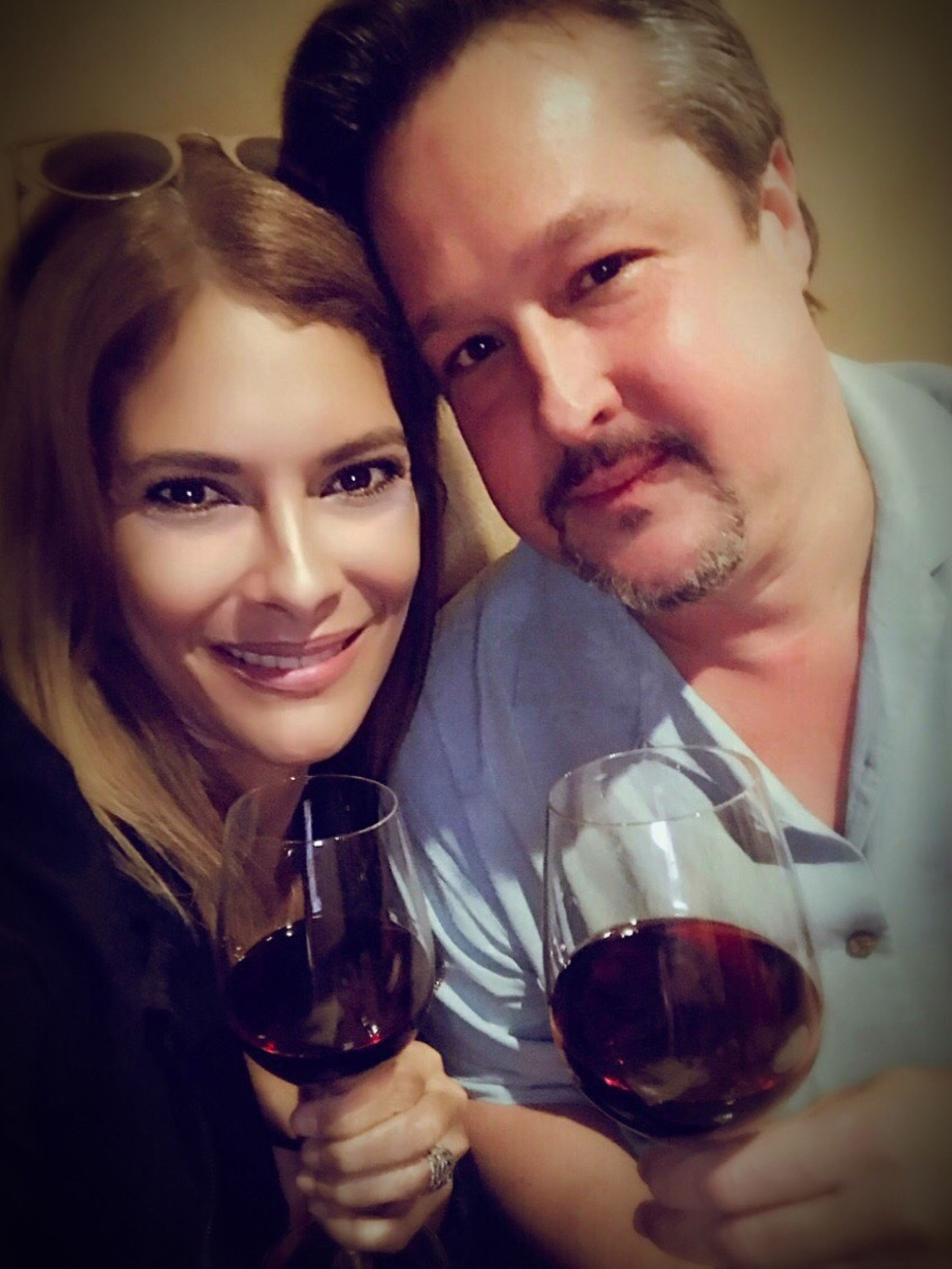 two people, wineglass, drinking, wine, alcohol, togetherness, friendship, lifestyles, holding, enjoyment, adults only, young adult, night, red wine, nightlife, cheerful, celebration, party - social event, leisure activity, happy hour, women, happiness, smiling, adult, champagne flute, refreshment, young women, people, portrait, indoors, men, close-up, winetasting