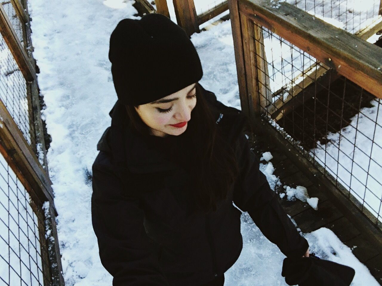 Sweater weather Deavz Traveling Life Winter Snow Outdoors