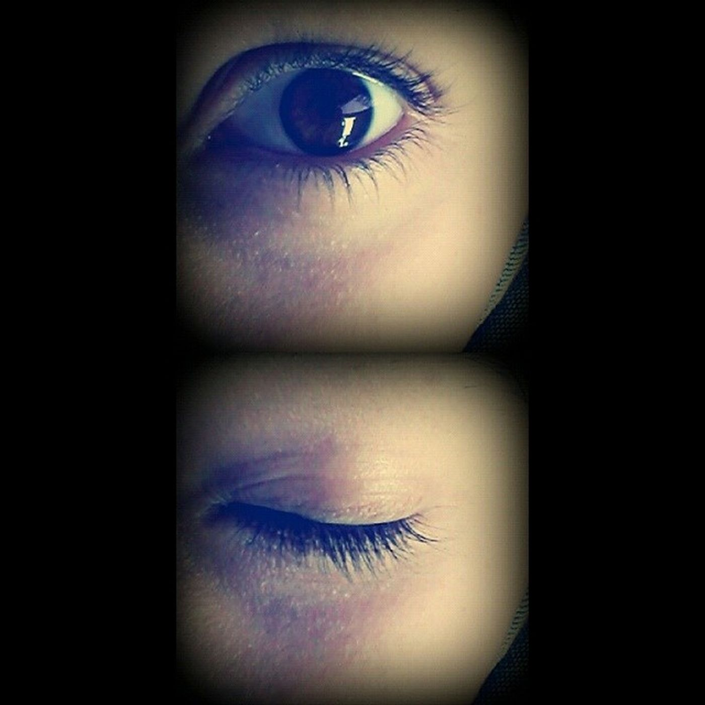 Ojos Close Marrones Eyes