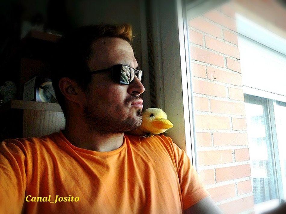 Tirando de archivo... My duckling and me. DuckFaceFriday ParlaEste That's Me LGTB