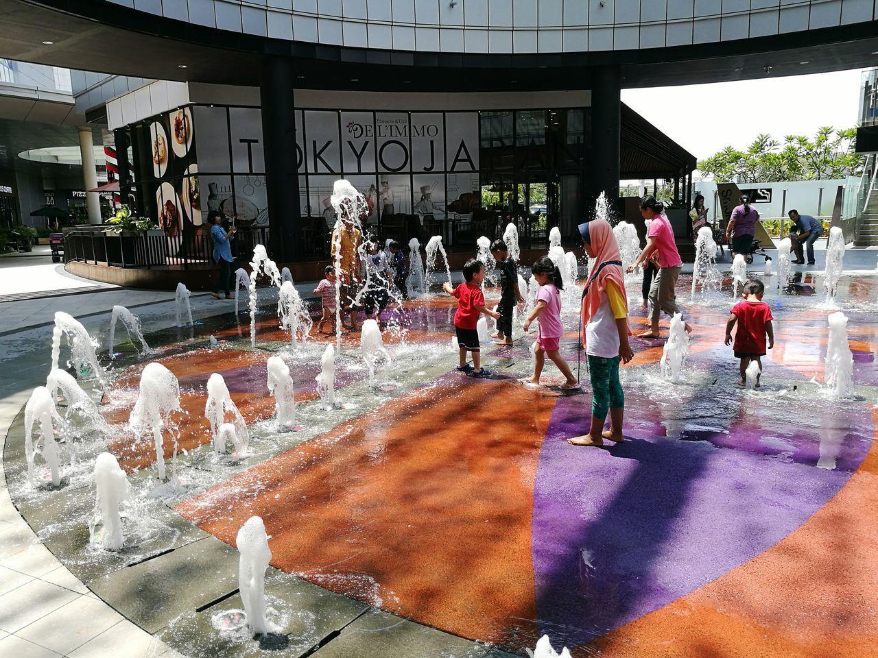 Have fun 😇😇😇 Water Outdoors P9huawei Leicalens Fun 2017 Vacation INDONESIA Aeonmall Bsd Free Spirit Wet EyeEm Gallery WeekOnEyeEm