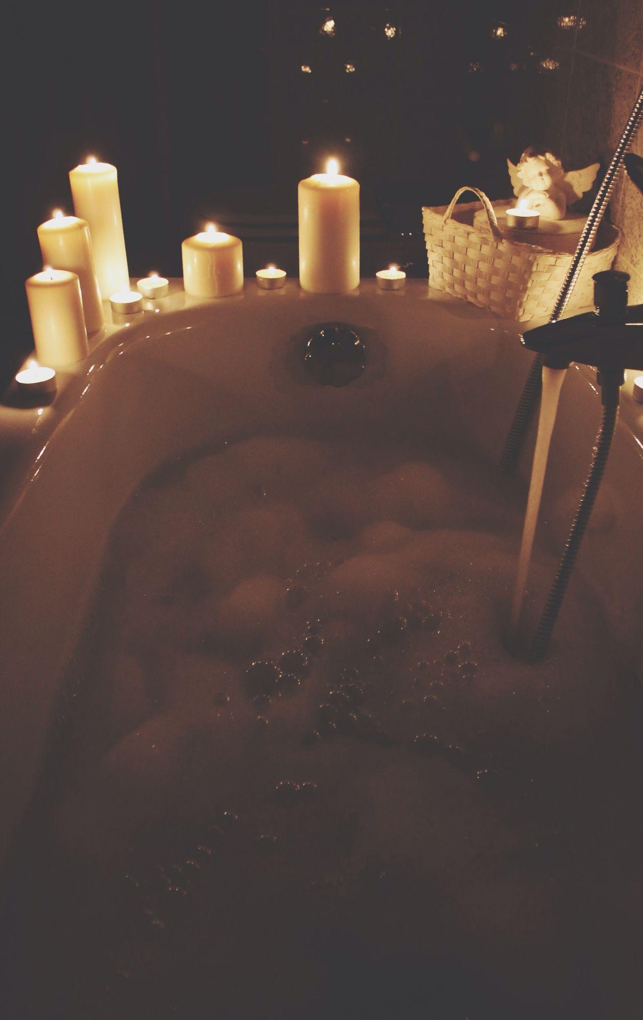 Bagno Caldo Candele Relax Postsecondaprova