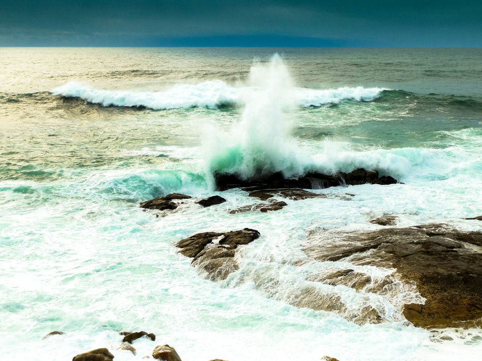 """""""Naturaleza explosiva"""" Baiona Beauty In Nature España EyeEm Best Shots EyeEm Nature Lover Eyeemvision Galicia Galicia, Spain Landscape Landscape Photography Motion Nature No People Outdoors Power In Nature Sea Sea View Seascape Water Wave Waves Waves And Rocks Waves Crashing Waves, Ocean, Nature"""