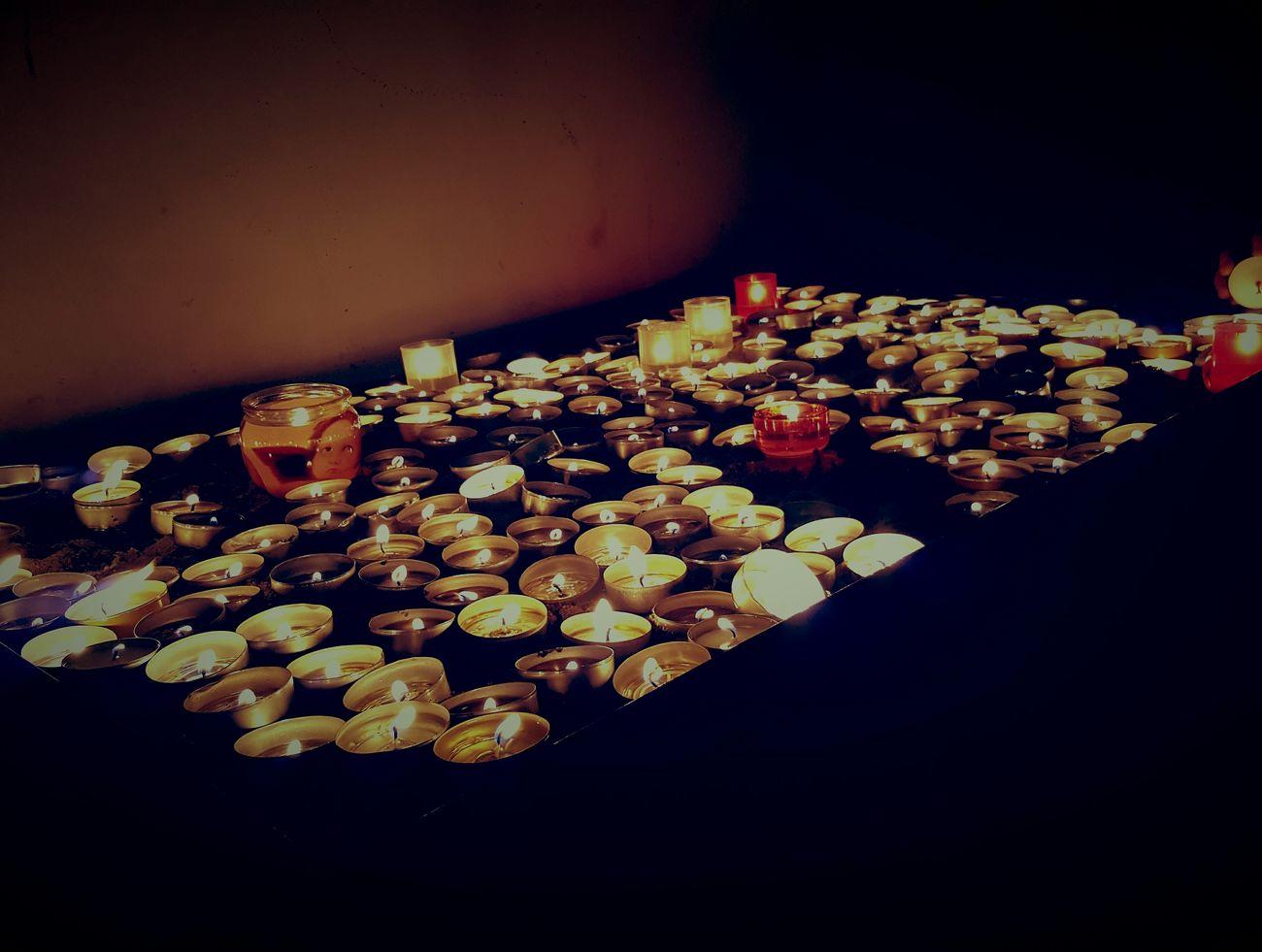 Candle Light 2016 Amazing Scary Cemetary Photo