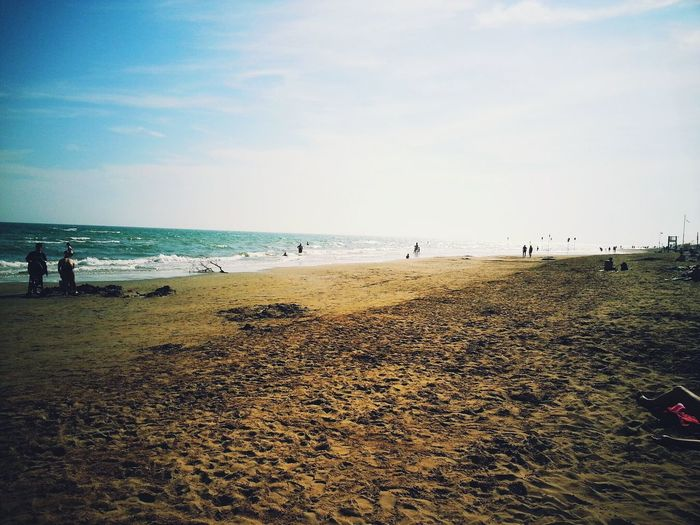Hello World Relaxing Beach Photography italy Bibione Travel Photography Beachphotography