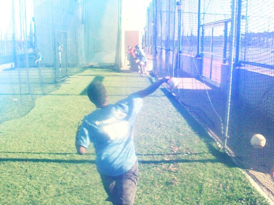 That's Me Revolution Team Getting In Shape Baseball ⚾ Baseball Player Number 15 Photography Pitching After The Game  Bullpen
