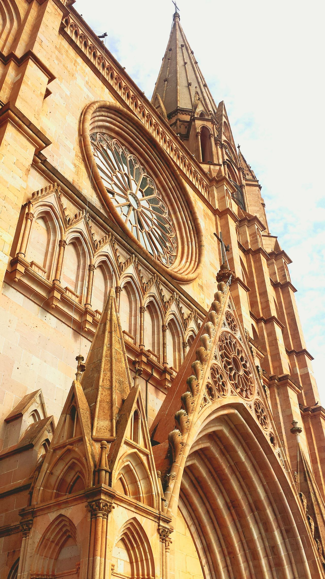 Catedral de San Jose. Arandas Architecture Neogothic Orange Old Buildings Old Church Church Catolicism Cantera Jalisco