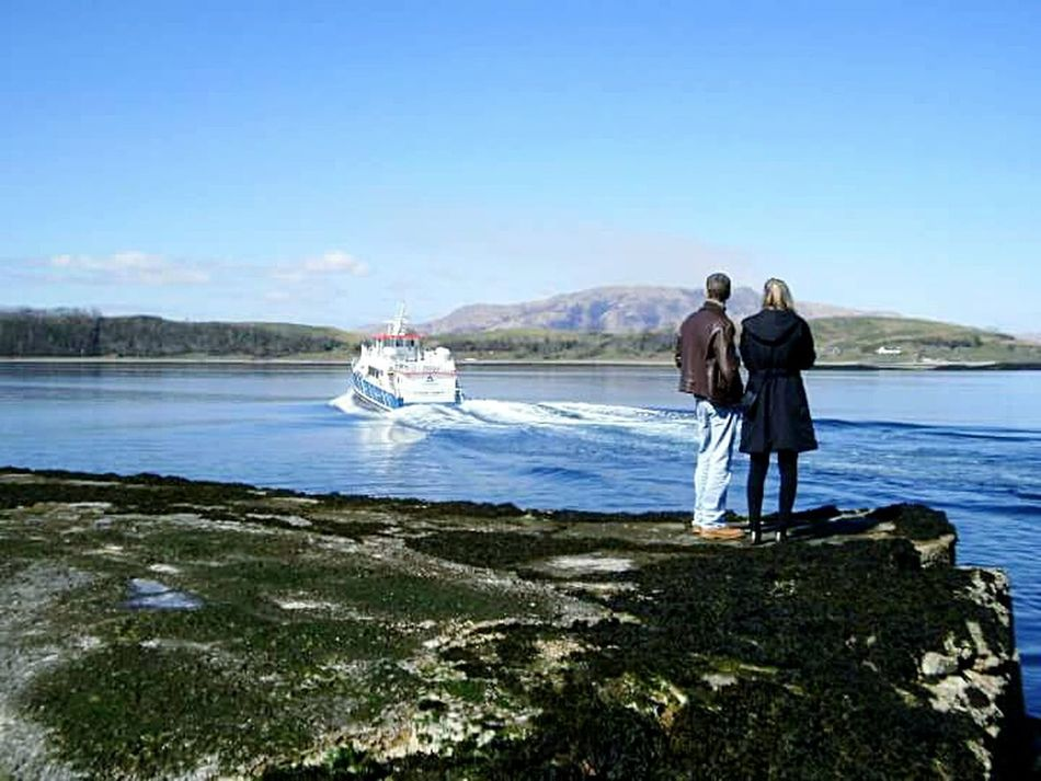 2010, Port Appin - don't worry, next ferry departs in 30 mins. 😉 Water Transportation Leisure Activity Mountain Scotland Boat Boat Trip Transportation Scottish Scenery Isle Of Lismore Port Appin
