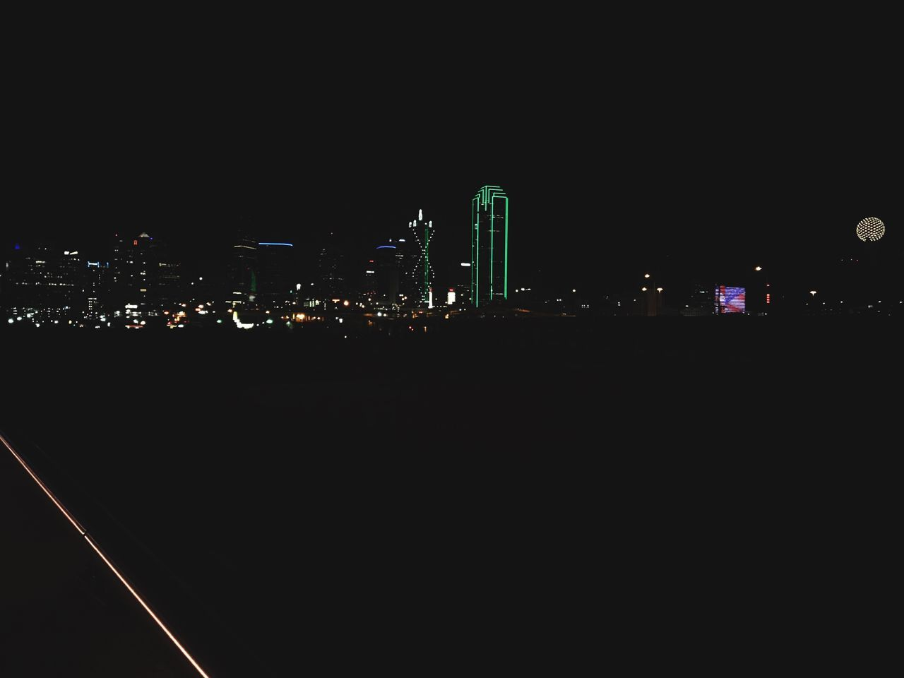 When my city is live at night Night Downtown
