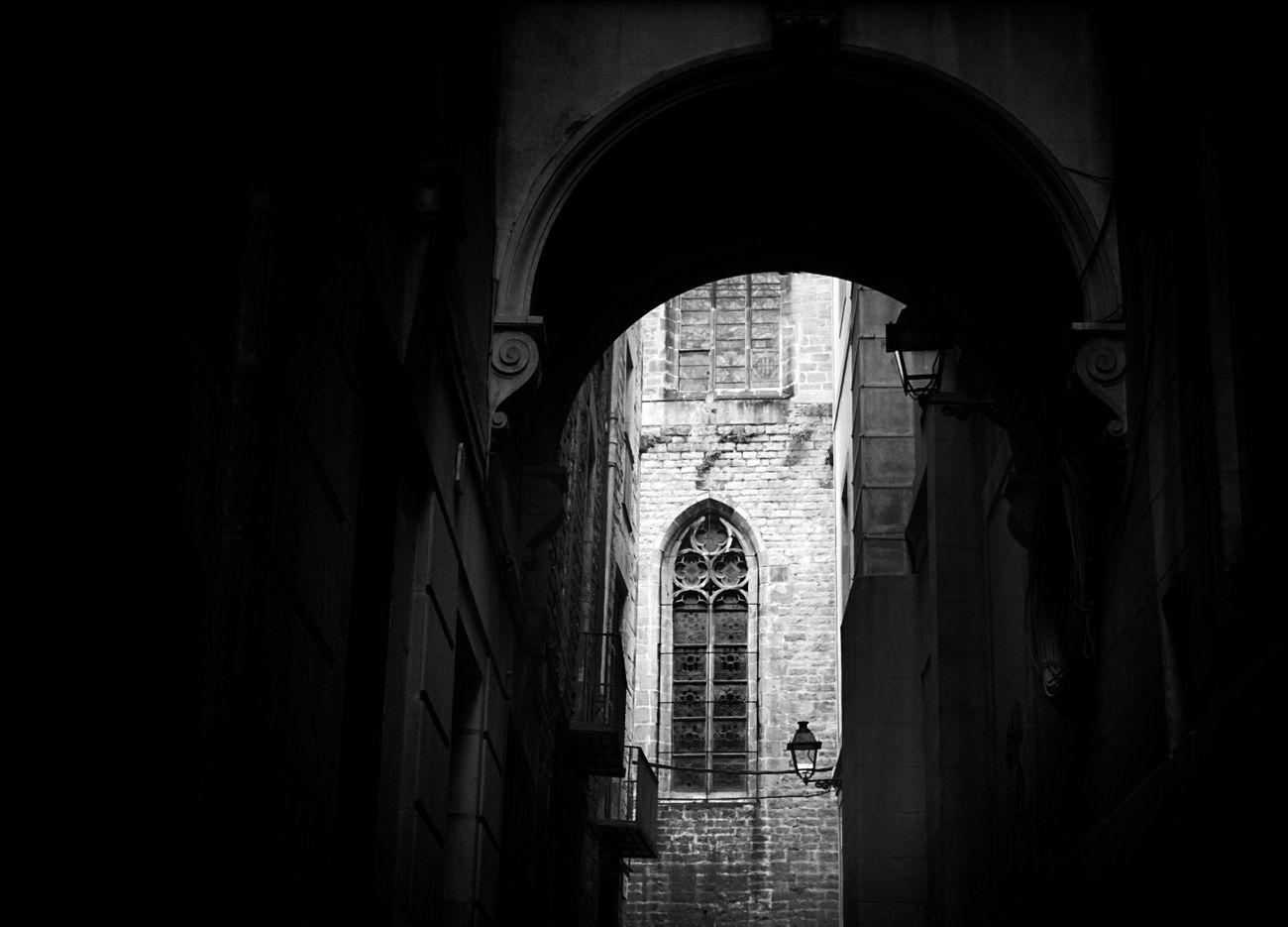 Monochrome Blackandwhite Light And Shadow Mi Serie Barcelona