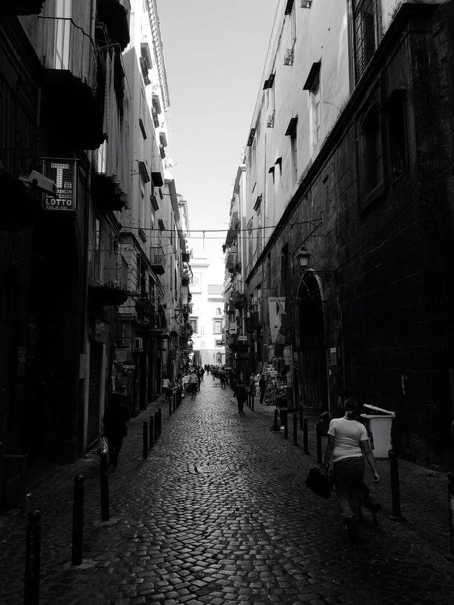 Naples Naples Luigiamendola Vía Vicolo Centro Storico Decumano Street City Outdoors Downtown Historic Morning Decumani