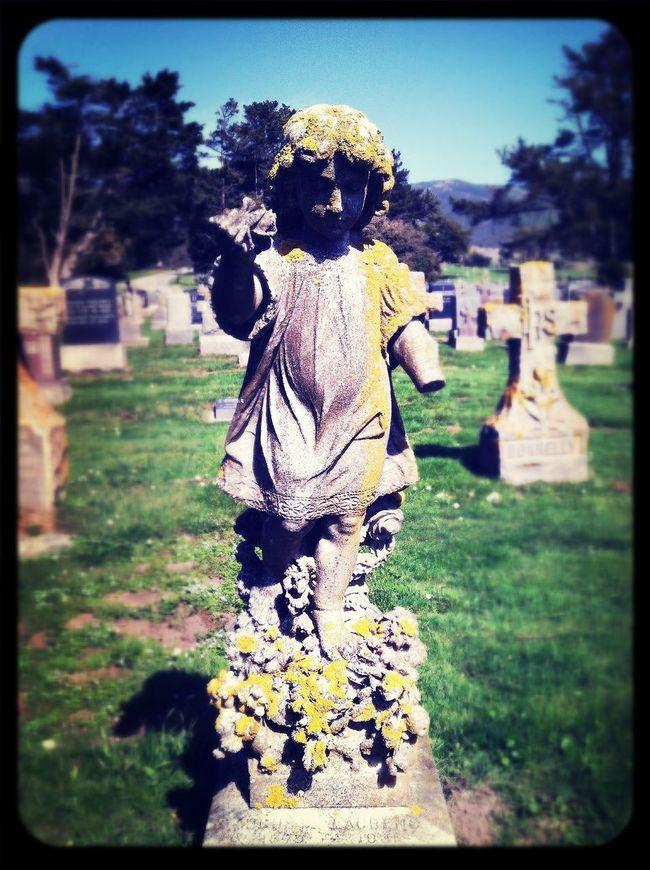 Cemetery Graveyard Beauty Dirty Angel