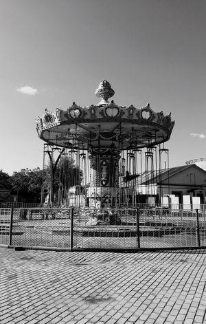 Built Structure Human Representation Building Exterior Outdoors No People The Way Forward Amusementpark