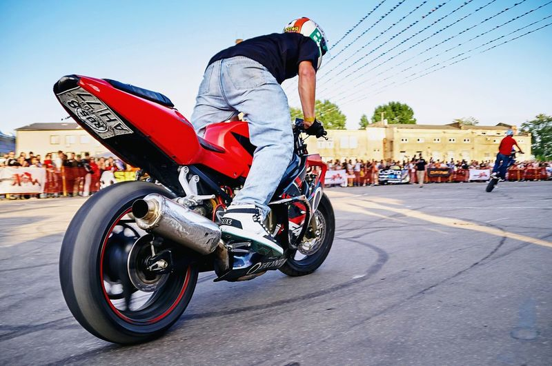 My Old Photo, Stunt Riding in Moscow, Freestyle Bike Motorcycles EyeEm Best Shots Sportbike Burnout