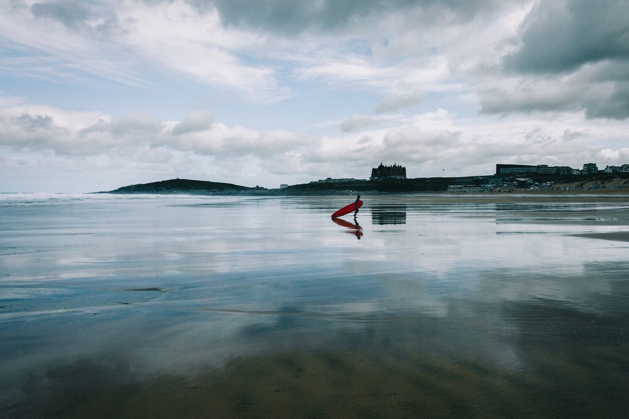 Traveling Beautiful OpenEdit Exploring Photography Photooftheday Check This Out EyeEm Best Shots Nature Eye Em Nature Lover Sea Ocean Sea And Sky Beach Surf Surfing Atlantic Ocean Cornwall Newquay Fistral Beach Uk England Landscape Landscape_Collection Landscape_photography