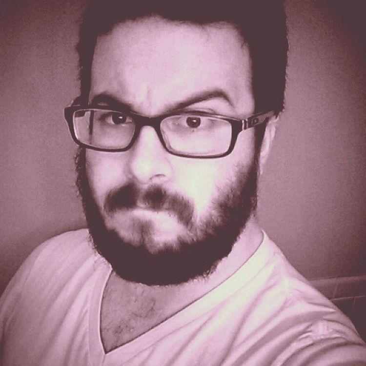 Inadvertently hipster Vneck Organicbeard OakleyGlasses Farmfreshchesthair