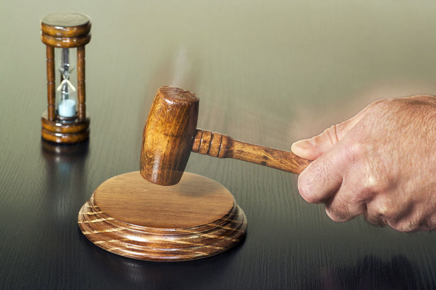 auction bid sale judgment mallet and hourglass selective focus Auction Guilty Sale Time Pass  Auctions Bid Bidet Buyer Hour Glass Hourglass Innocent Face Judge Judgement Law Public Purchase Sell Time Concept Time Passing Trade Trader Vending Verdict