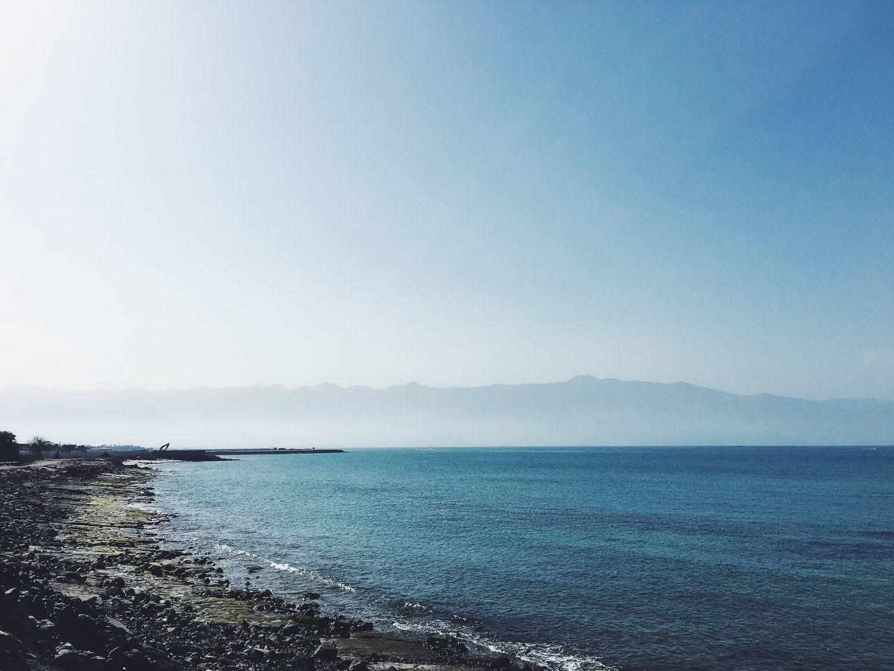 Coastal. Coast Coastline Coastal_collection Sea Sea And Sky Water Outdoors Fog Mist Mountains UAE Fujairah