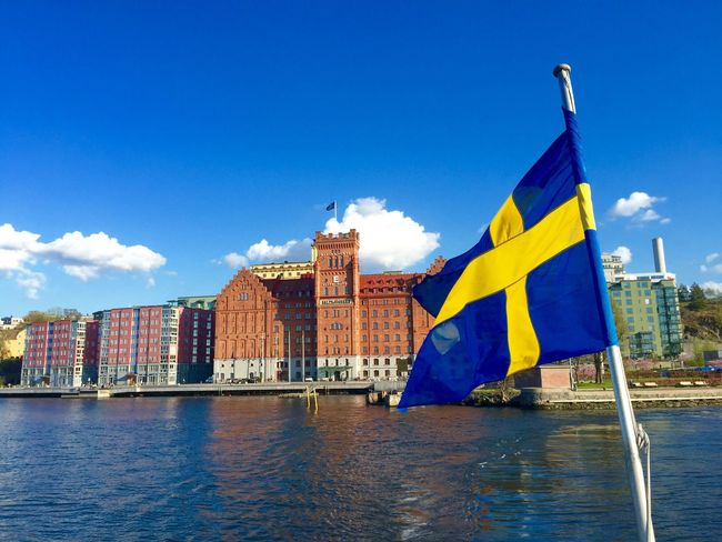 Happy National Day Sweden National Day National Day Celebrations Natinaldagen Sweden Water Celebration Celebrating Sun Hello World Enjoying Life Great Atmosphere Fresh Air