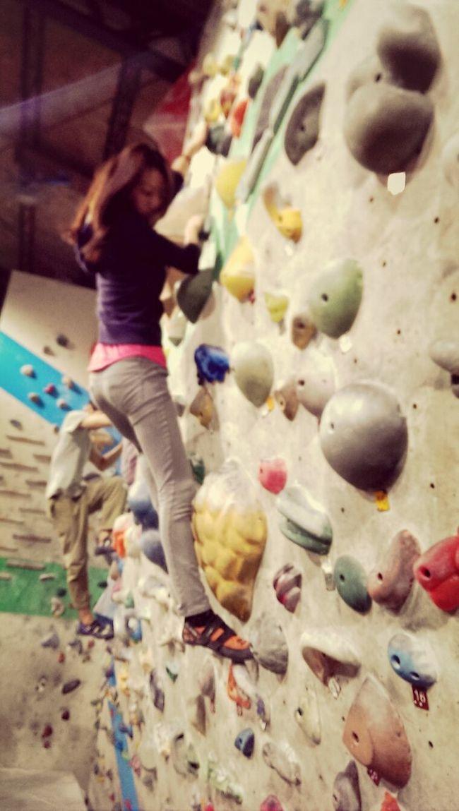 stone climbing! Enjoying Life