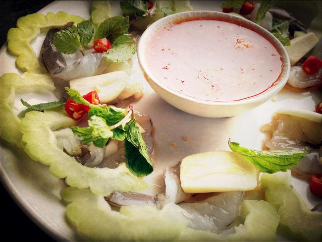 Shrimp in fish sauce manu