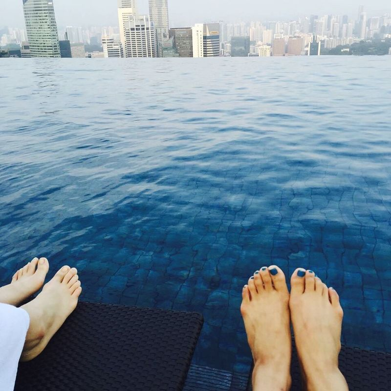 RePicture Travel Singapore Marina Bay Sands Blue Cobalt Blue By Motorola Blue everything