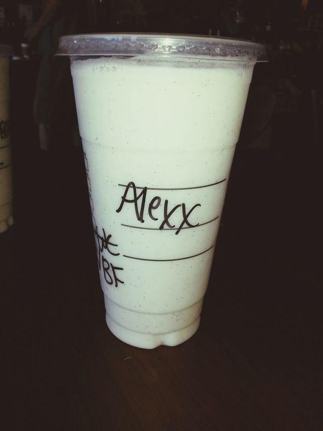 Starbucks is the best its literally life♥ Starbucks Vanilla Alexx  Starbucks Coffee
