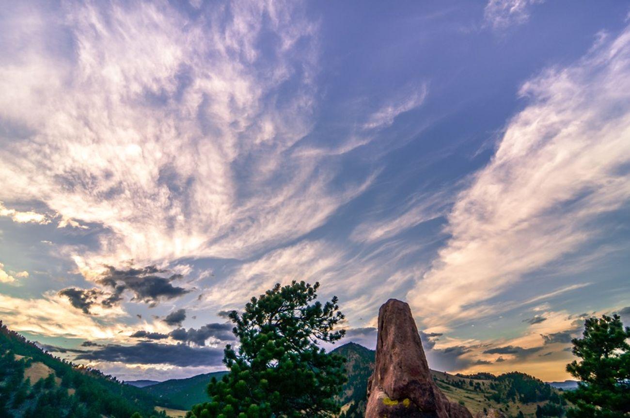 Settler's Park in Boulder, CO Landscape Tokina 11-16 Mm F/2,8 Skyporn