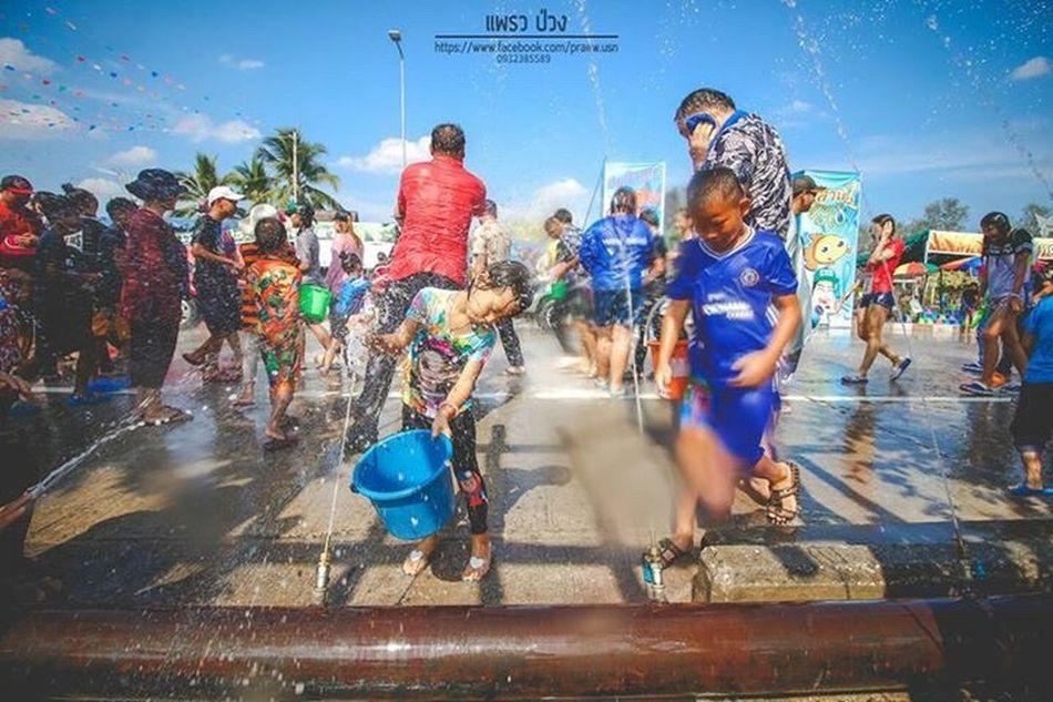 Songkran Festival Kwan Phayao Phayao Lake Thailand Outdoors People Praewphotograph Photoแพรวป่วง