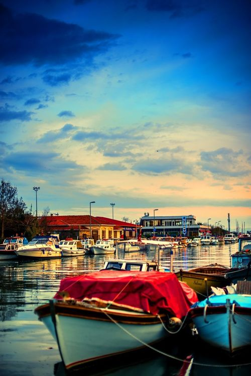 boats by Ersin Bisgen