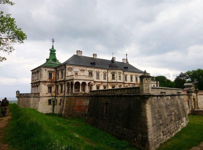 Ukraine Pidhirci Castle Beautiful Trip Architecture