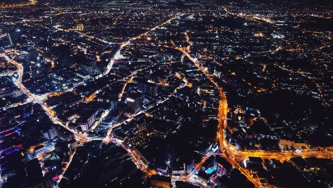 Night Night Lights Arial Shot Aerial Aerial Photography City Inspire1 DGI City Life Pattaya Lights Streets