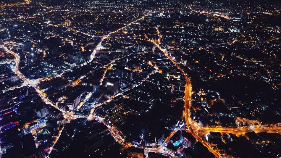 Night Night Lights Arial Shot Aerial Aerial Photography City Inspire1 DGI City Life Pattaya Lights Streets