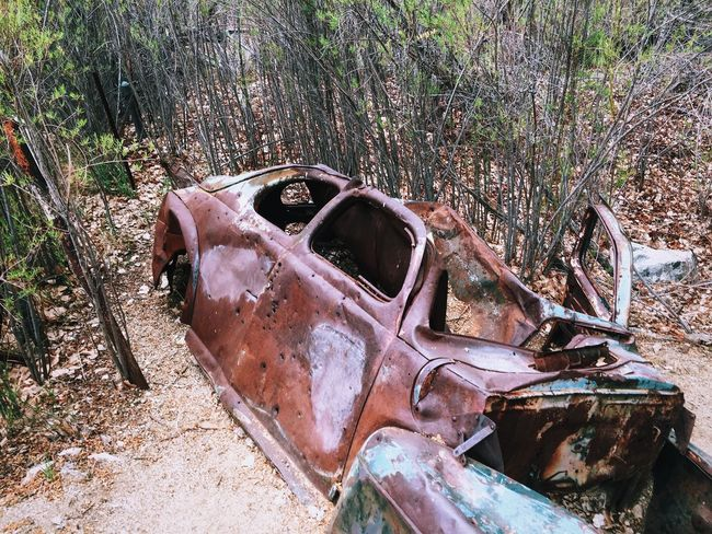 the fastest hunk of junk in the galaxy Walking Around Abandoned Abandoned Car On A Hike