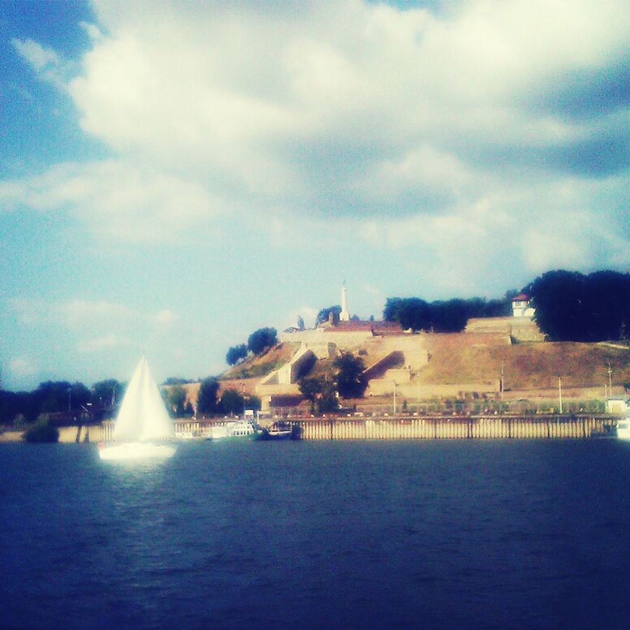 Belgrade Going Sailing Relax Time  Enjoying The Sights