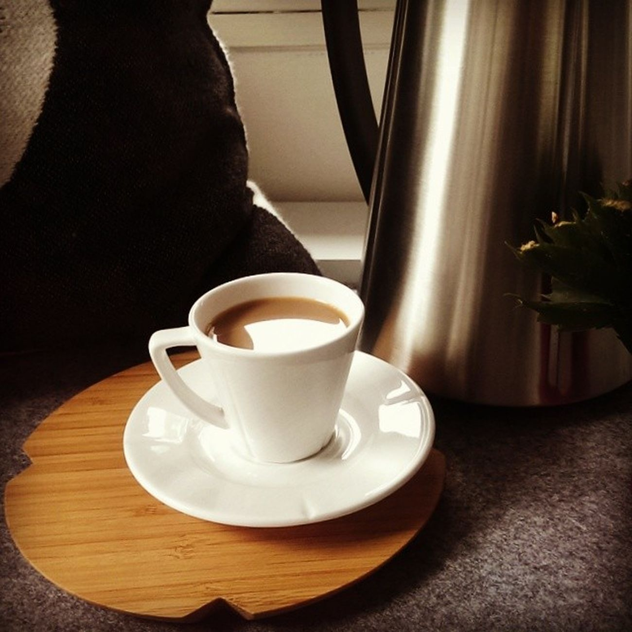 Bad weather? Good morning. Kaffeezeit Käffchen Chillout Rosendahl badweather goodmorning