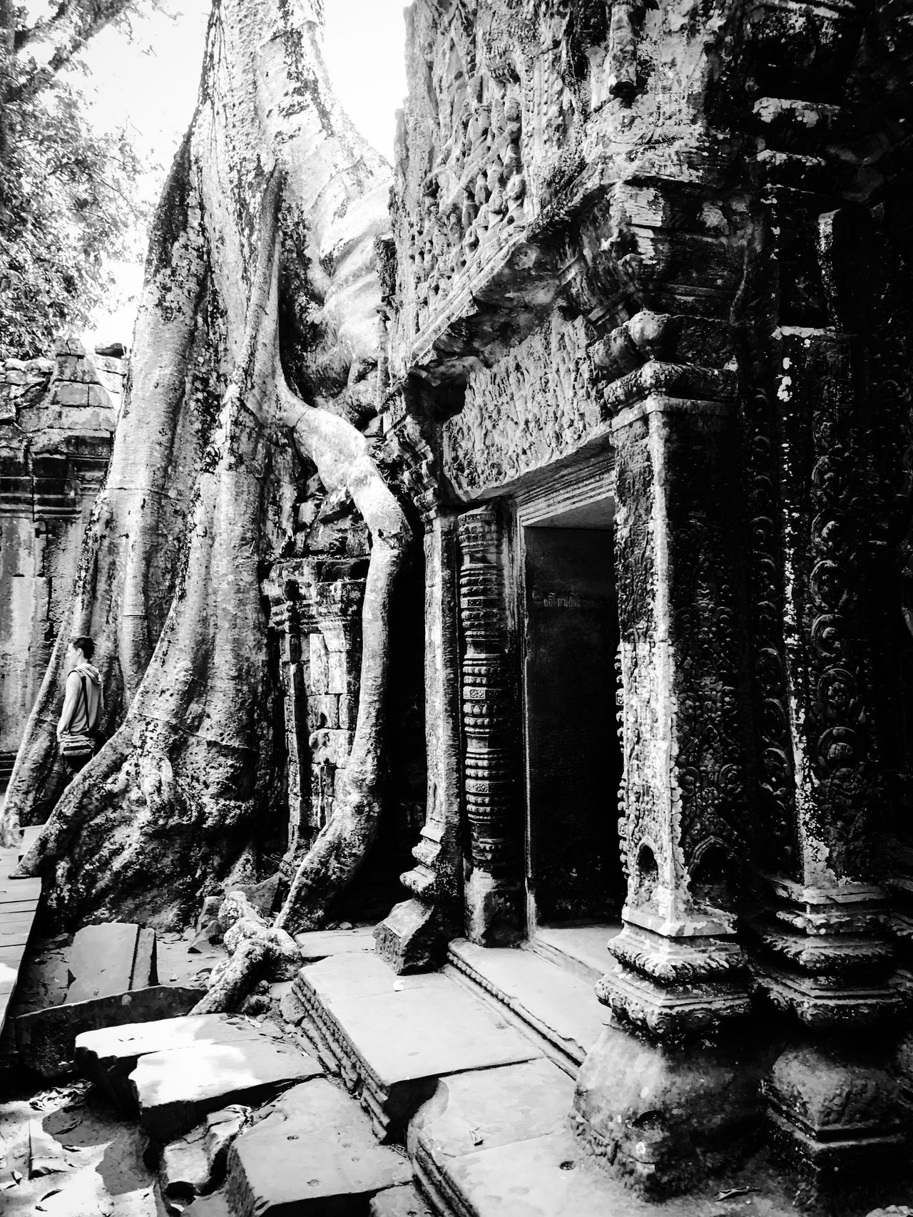 Angkor Thom Cambodia TombRider Architecture Khmer Empire Place Of Worship