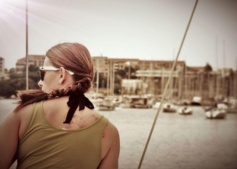 Croatia ❤ Me Segeln Tattoo Girl