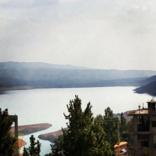 Lebanon Bekaa Saghbine Karaon Lake