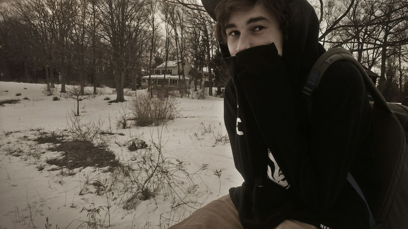 Amazing day with the most amazing guy I've ever met :) I Love You ! Amazing Eyes Snow ❄ I LOVE HIM♥